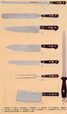 nomi dei coltelli da cucina coltelli