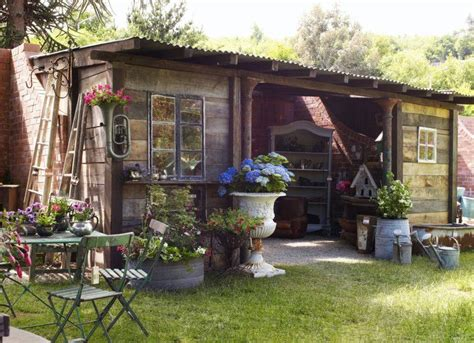 recycled reclaimed potting shed rustic shed shed images