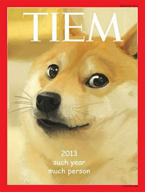 Know Your Meme Doge - doge tiem person of the year 2013 weknowmemes