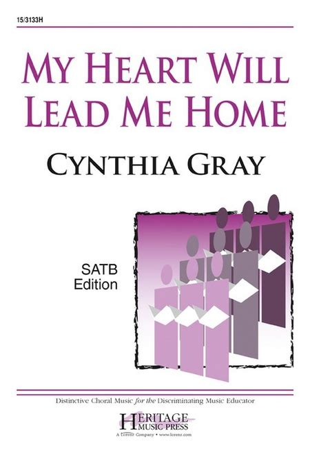 my will lead me home sheet by cynthia gray