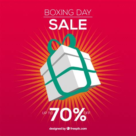 boxing day sale discount vector free download