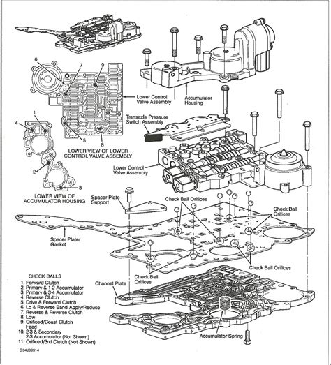 service manual exploded view 1995 cadillac seville manual transmission service manual