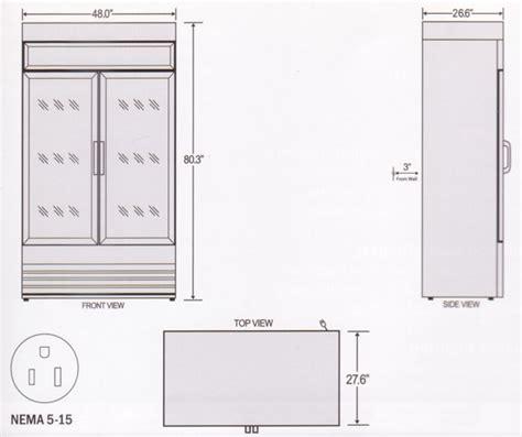 refrigerator dimensions two door refrigerator dimensions www pixshark com