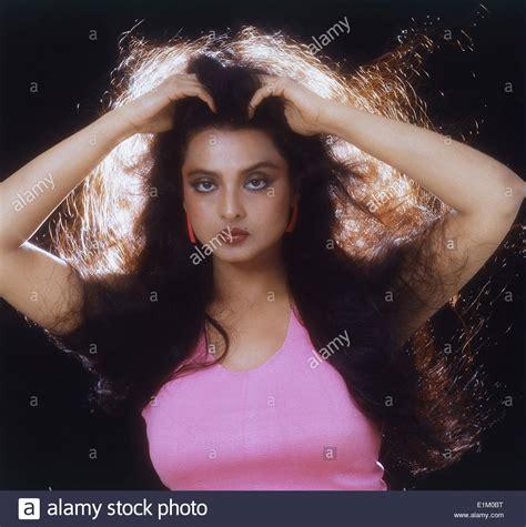 film actress rekha photos portrait of indian film actress rekha stock photo royalty