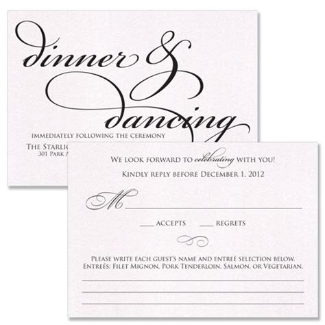 wedding invitation reception card exles reception card someone else s wedding