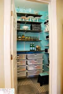lovely pretty blue pantry