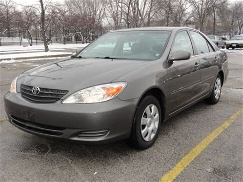 Toyota Camry 2002 For Sale Toyota Camry 2002 For Sale By Owner In Chicago Il 60639