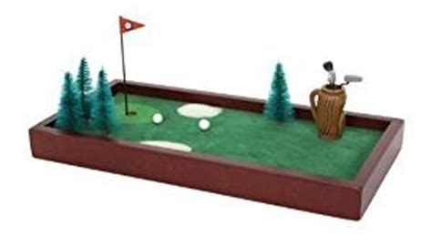 The Golf Desk by Mini Table Office Desk Golf Course Executive