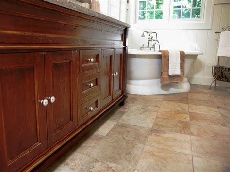 Tile Flooring Ideas For Bathroom by 30 Cool Ideas And Pictures Of Natural Stone Bathroom