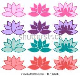 Lotus Flower Spa Lotus Flower Outline Stock Images Royalty Free Images
