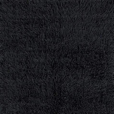 black flokati rug black flokati wool rug world market