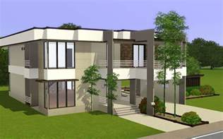 modern home layouts sims 4 modern house floor plans modern house