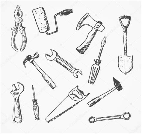 sketch tool tools stock vector 169 elinacious 35338187