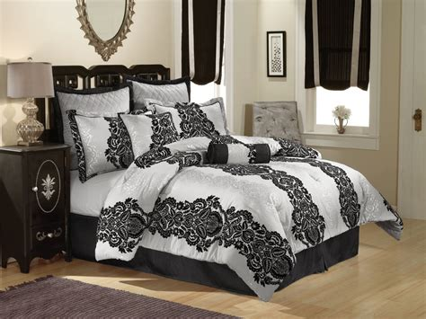 Black and white bedding black white and gray bedding silver bedding