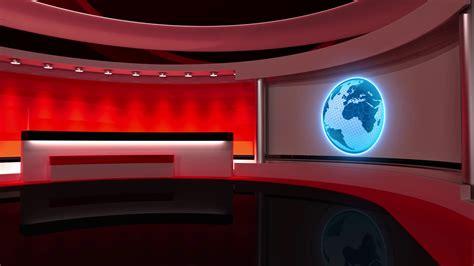 new room studio tv studio news room breaking news loop 3d rendering motion background videoblocks