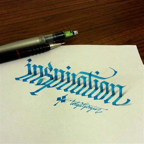 typography pens a turkish electrical engineer creates 3d lettering with
