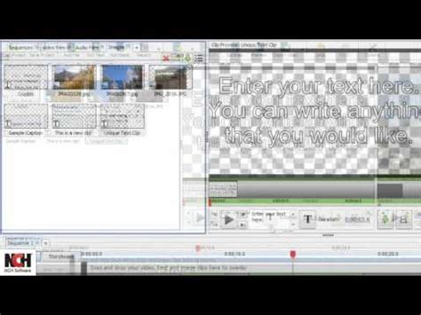 videopad software tutorial vsdc free video editor tutorial part 1 new project and