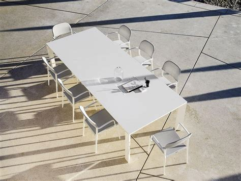 tavoli per terrazzi tavolo allungabile in alluminio per terrazzi e sale da