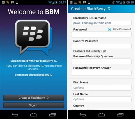 messenger not working android blackberry messenger for android leaked
