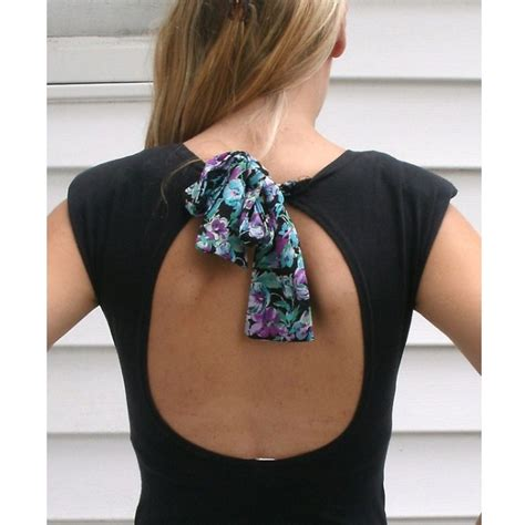 backless dress diy backless shirt sew easy to make clothes