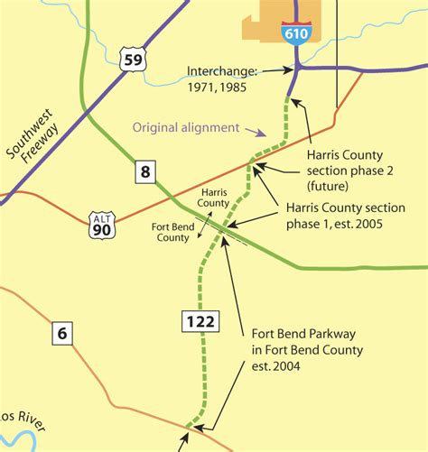 Fort Bend Search Westpark Tollway Map Images