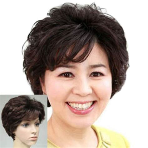 women cut hair cap new stylish synthetic wigs free shipping pixie cut wig