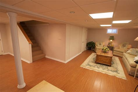 Decorations Ideas For Finishing Basement Walls Along Basement Wall Ideas