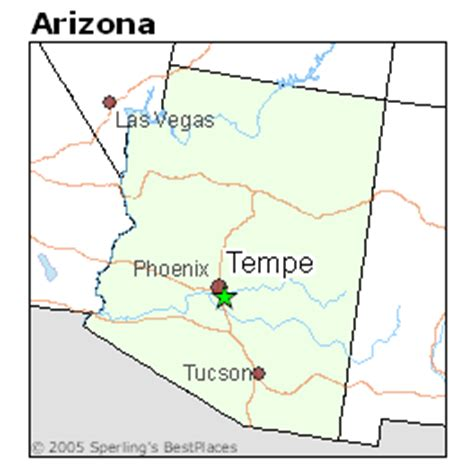 us map tempe arizona best places to live in tempe arizona