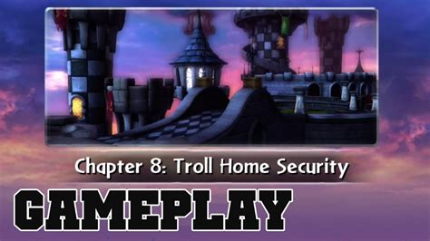 cotv skylanders giants troll home security gameplay