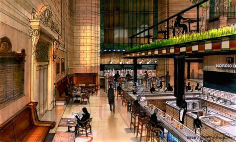 Grand central food hall proposal nears approval the new york times