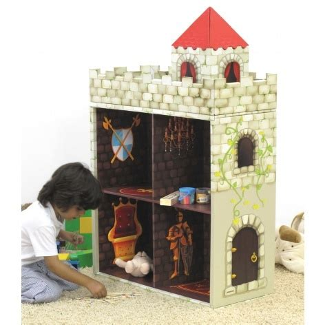 castle bookcase playhouse garden and furniture