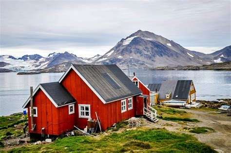 houses in greenland day trip from iceland to greenland travel addicts