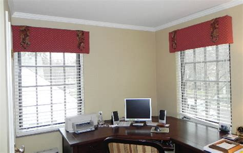 Office Window Valances home office 187 susan s designs