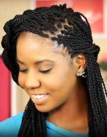 braide thin black hair 15 exquisite diy box braided hairstyles fancy style thin