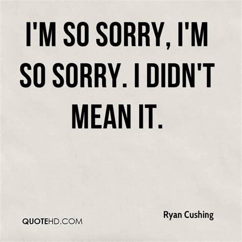 im sorry quotes so sorry quotes quotesgram