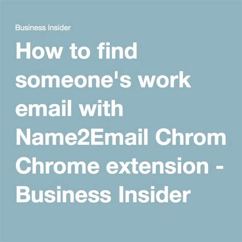 How To Search A Person On By Email Best 25 How To Find Someone Ideas On Starting