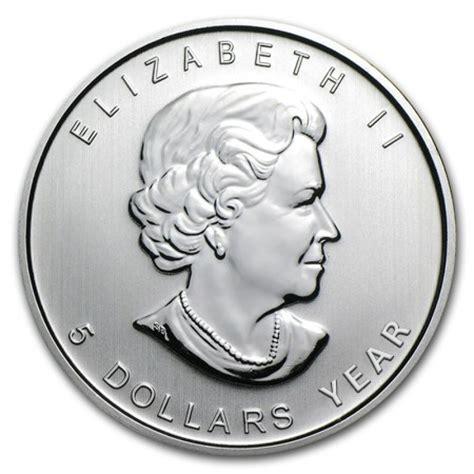 1 oz canadian maple leaf silver 1 oz canada silver maple leaf bullion coin random year