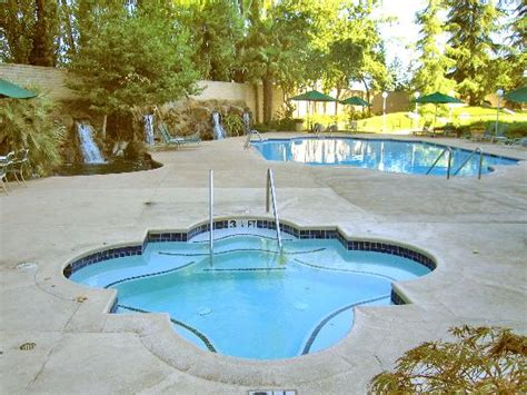 Marriott Background Check Whirlpool Spa With Pool In Background Picture Of