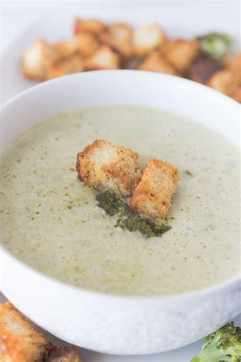 Cauliflower Fresh roasted cauliflower soup fresh croutons recipe dishmaps