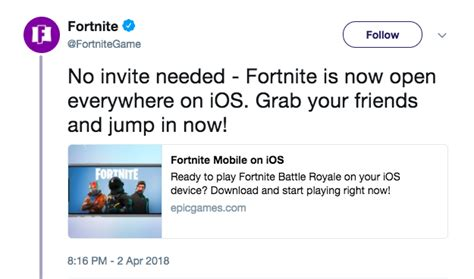 will fortnite be available on iphone 6 fortnite is now available for everyone on ios