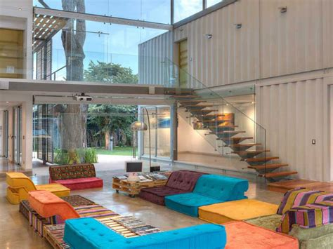 container home interiors shipping container homes 15 ideas for life inside the box