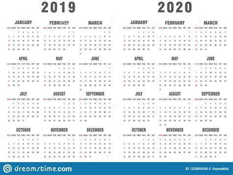 calendar gray  white stock vector illustration  color english