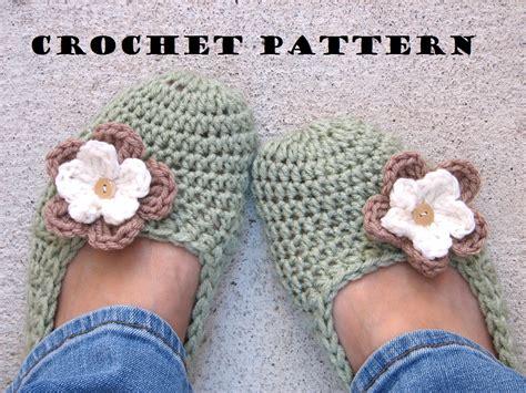 crochet slippers for beginners slippers crochet pattern pdf easy great for