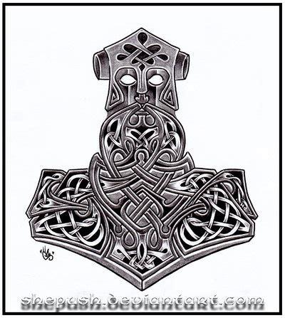 thor s hammer tattoo designs thor s hammer by shepush on deviantart