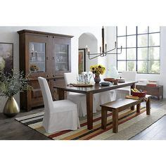 crate and barrel dining room table bedroom ceiling fan duncan fife dining room set 1920s 9 piece dining room