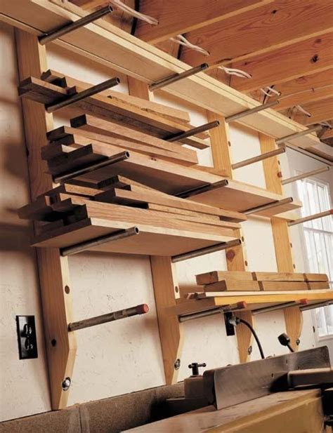 Garage Lumber Storage Ideas 30 Lumber Storage Rack Design Studio Workshop