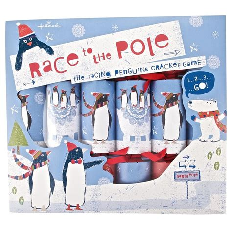 race to the pole penguin crackers 163 6 christmas pinterest