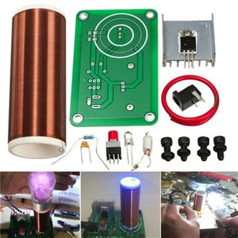 Small Tesla Coil For Sale Diy Mini Tesla Coil Kit Wireless Transmission Teaching