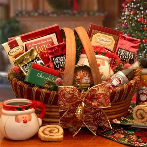 holiday barista gourmet coffee gift basket christmas