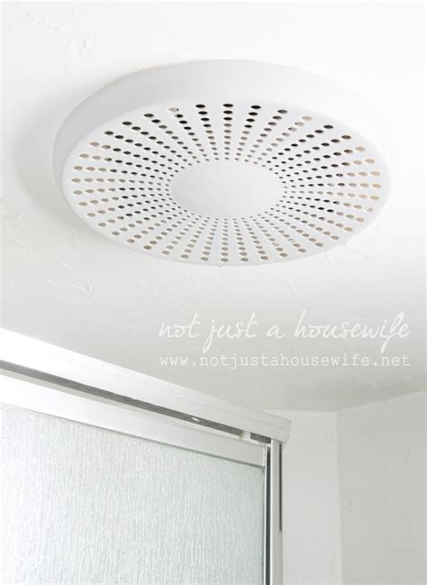 bathroom exhaust fan with bluetooth speaker bathroom update and an awesome giveaway not just a